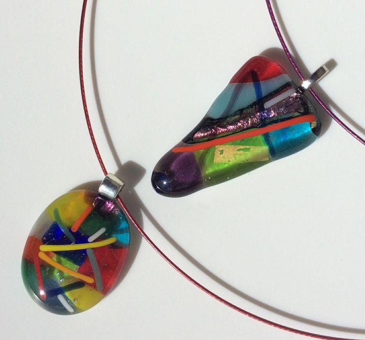 Deze glasjuweeltjes zelf maken..  Meer info: keizergoed@gmail.com