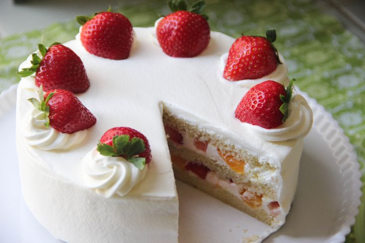 """<p>Japanese+Strawberry+Shortcake+is+a+western-style+layered+cake+with+whipped+cream+and+strawberries.+It+is+the+most+popular+kind+of+western+cake+in+Japan+for+everyone.+It+is+said+the+Strawberry+Shortcake+was+""""invented""""+by+a+pastry+shop+in+1920s,+but+it+became+more+popular+in+the+1950s.+And+since+…</p>"""