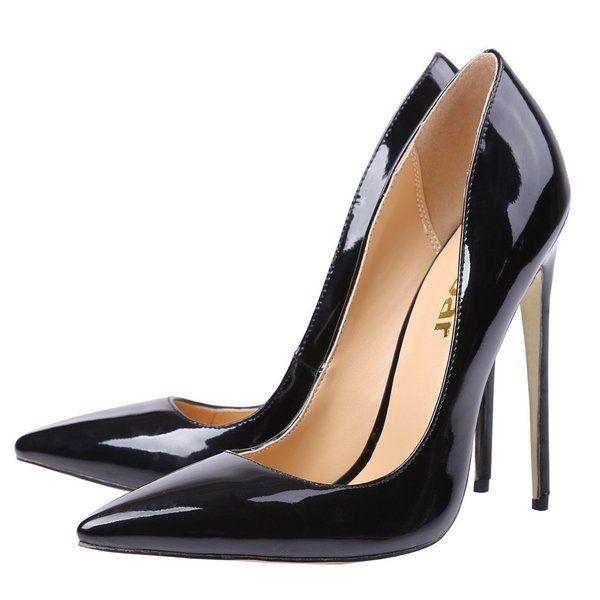 ber ideen zu schwarze high heels auf pinterest. Black Bedroom Furniture Sets. Home Design Ideas