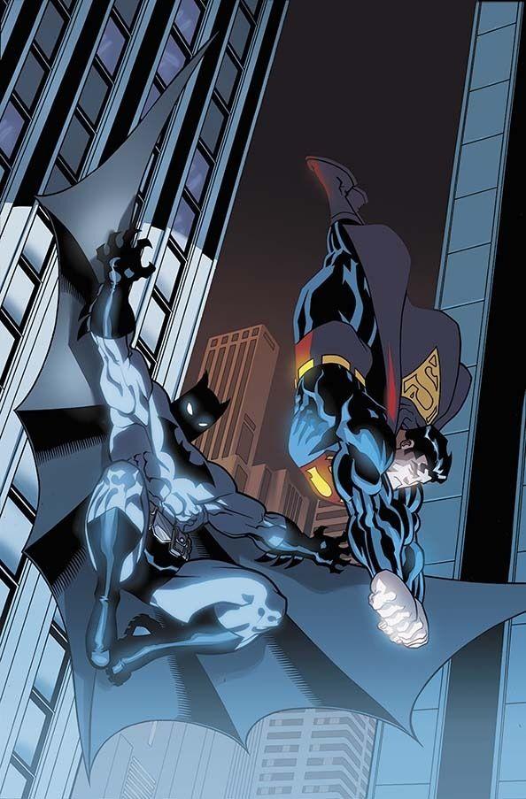Batman & Superman, art by Ed Mcguinness