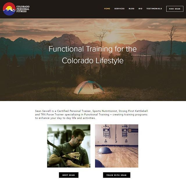 Complete branding and web design for @coloradopersonalfitness   Check it out at coloradopersonalfitness.com   I love launching new client's sites and showing you all how a brand design board comes to life! Learn more on my site - link in bio  #brandmakeover #branding #blogger #personalfitness #risingtidesociety #creativepreneur #colorado #denver
