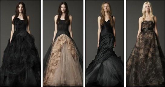Zwarte trouwjurken van   vera wang