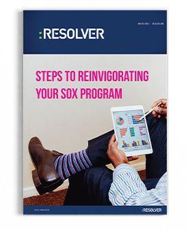 Steps to Reinvigorating your SOX Program  http://www.resolver.com/resource/steps-reinvigorating-sox-program/  #Compliance #internalControls