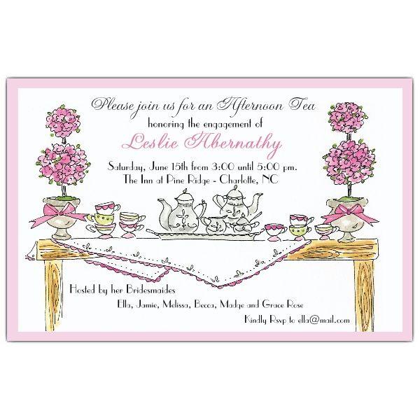 16 best Tea party invitations images on Pinterest High tea - fancy invitation templates
