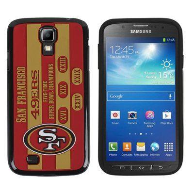 San Francisco 49ers Commemorative Samsung Galaxy S4 Hard Cover - Scarlet