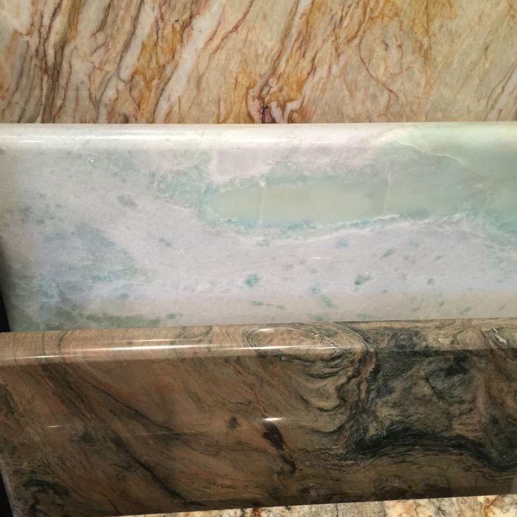 Granite By Design Quartzite Lumen Blue Green Veining