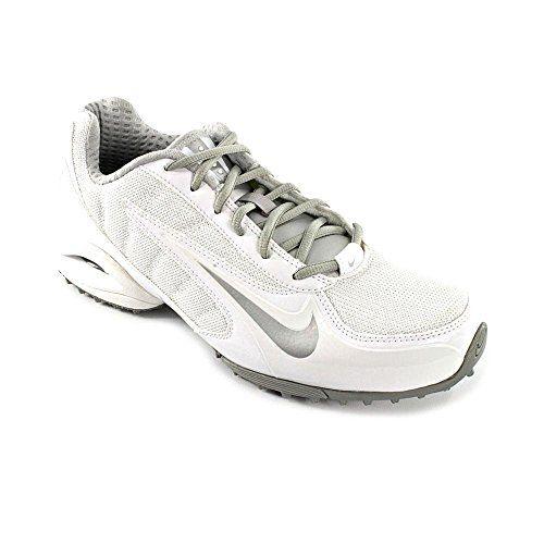 8e5158c1aadff Nike Women's Air Team Destroyer 3 Turf Lacrosse Cleats (5.5, White ...