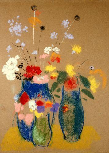 Odilon Redon (French: 1840–1916), [Post-impressionism, Symbolism] 1908.