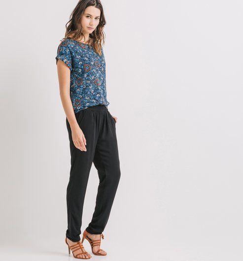 1000 ideas about pantalon fluide femme on pinterest pantalon boyfriend femme pantalon large. Black Bedroom Furniture Sets. Home Design Ideas