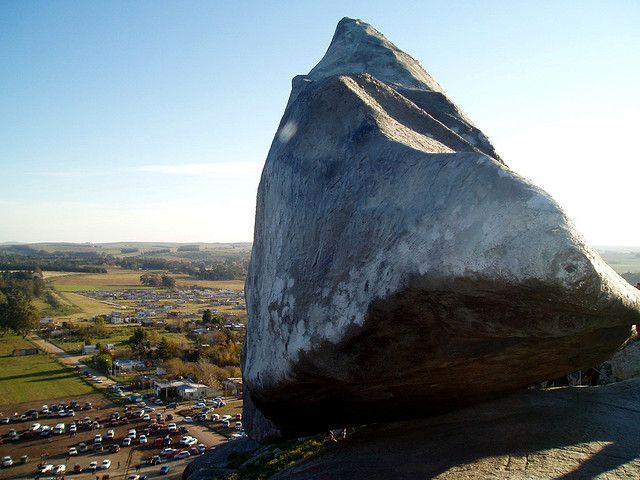 Interesting Facts About Argentina: Tandil huge boulder