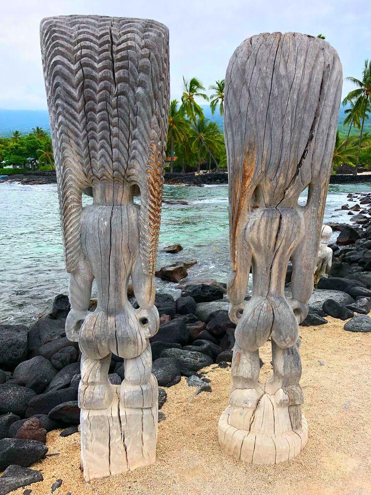 Pu'uhonua o Honaunau National Historical Park (Place of Refuge) on the Big Island of Hawaii