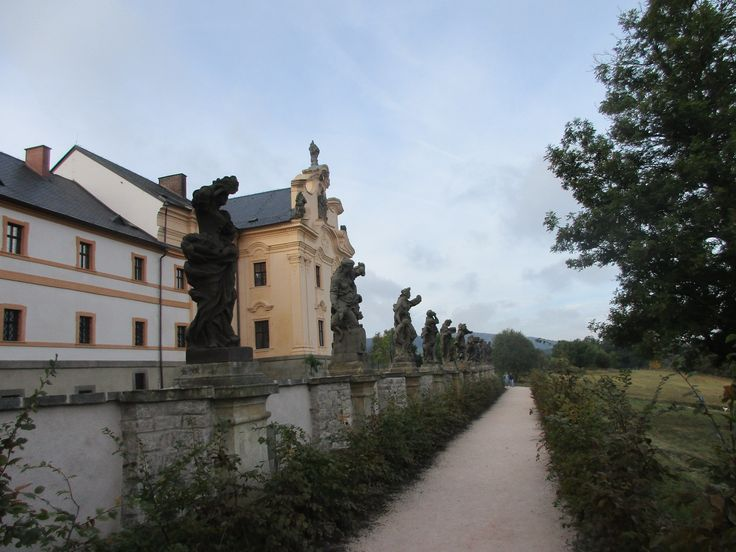 Kuks - barokní sochy Matyáše Bernarda Brauna - Královéhradecký kraj - Česko