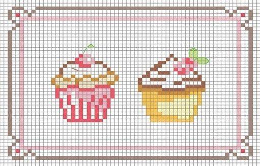 miniature needlework chart