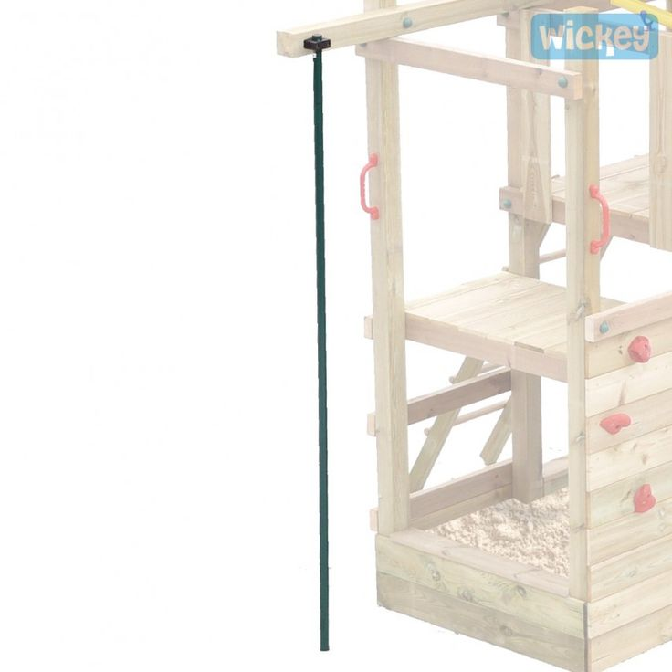 Fireman's pole straight, climbing frame accessories