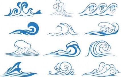 14 best wave vector images on pinterest graphic art vector vector rh pinterest com wavevector of holes wavevector definiton