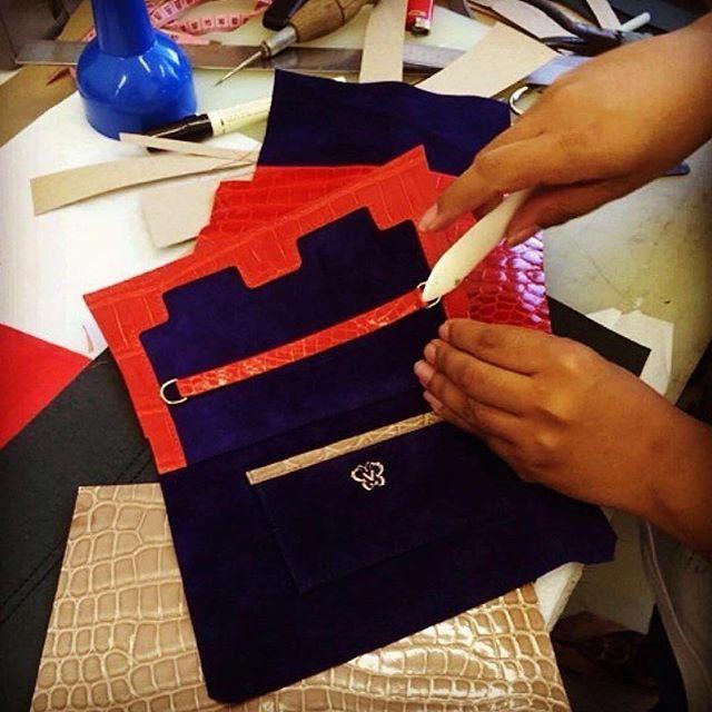 Passionately hand made  #VanaShree #oneofakind #behindtheprocess #ExoticElegance #MasterArtisans