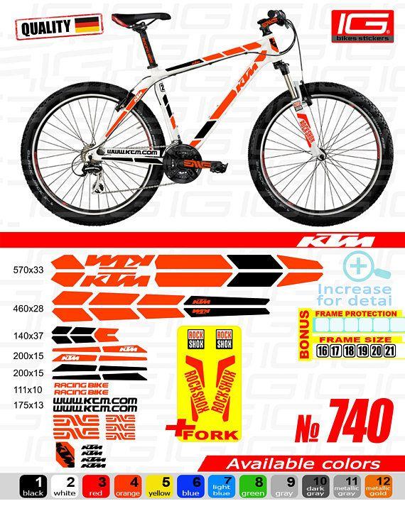 Mountain Bike Biker White Sticker Decal Bicycle Die-cut White Sticker Decal