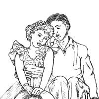 norman rockwell coloring pages - photo#21