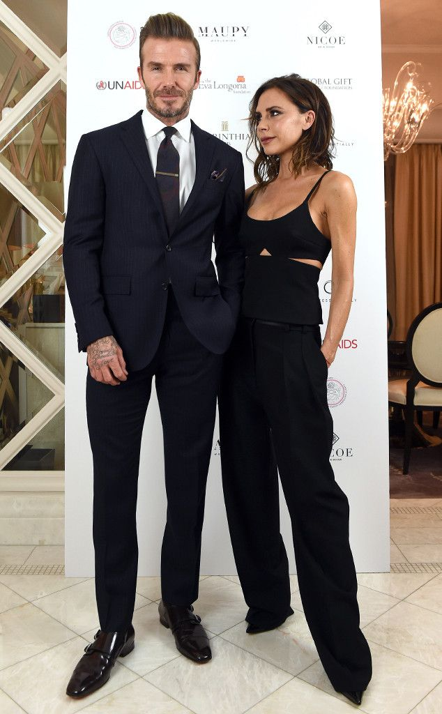 David Beckham & Victoria Beckham from The Big Picture: Today's Hot Pics  The cute couple make anattend the Global Gift Gala in London.