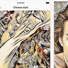 写真を有名画家風に加工できるアプリArtEffect登場