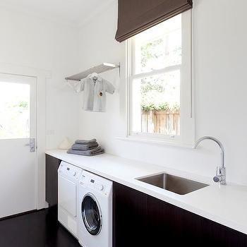 Sleek Laundry Room