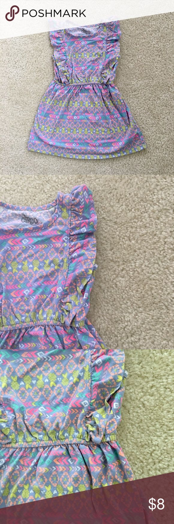 Circo Aztec Print Dress (Toddler Girls, 3T) Circo Aztec print dress. Toddler girls, 3T. Material is lightweight and great for a warm Spring or Summer day. Gently worn. Asking $8 firm. Circo Dresses Casual