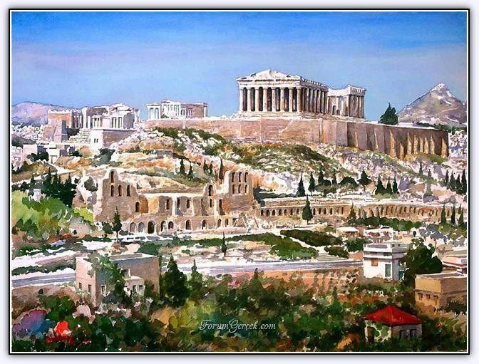 Pantelis D.Zografos (1949 - ....)   Suluboya Resimlerle Yunanistan - Sayfa 2 - Forum Gerçek