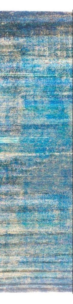 Blue/Green Sari Silk – Luke Irwin