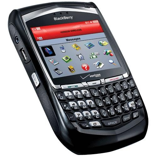 Blackberry 8700 -- my favorite cell phone ever!!!