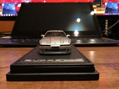 日本自動車デザインコーナー 「Japanese Car Design Corner」: Toyota Supra 3.0 GT (MA70) by ignition model