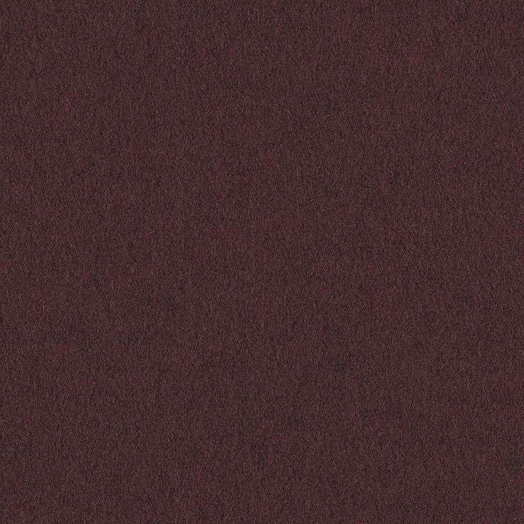 Heather Felt - Acai | Heather Felt is a classic, 100% wool felted construction with a supple hand and variegated heathered appearance. The darker undertone of the overdyed fabric grounds the palette and makes it easy to use with other fabrics and finishes. Heather Felt's flannel texture can be used to soften environments and create a sense of comfort and warmth.