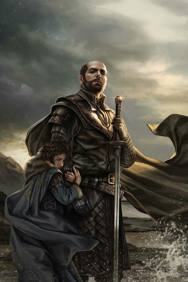 Stannis and Shireen by Magali Villeneuve