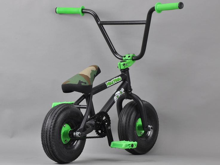 ROCKER 2 MINI BMX : MiniMain Black Camo Rocker 2
