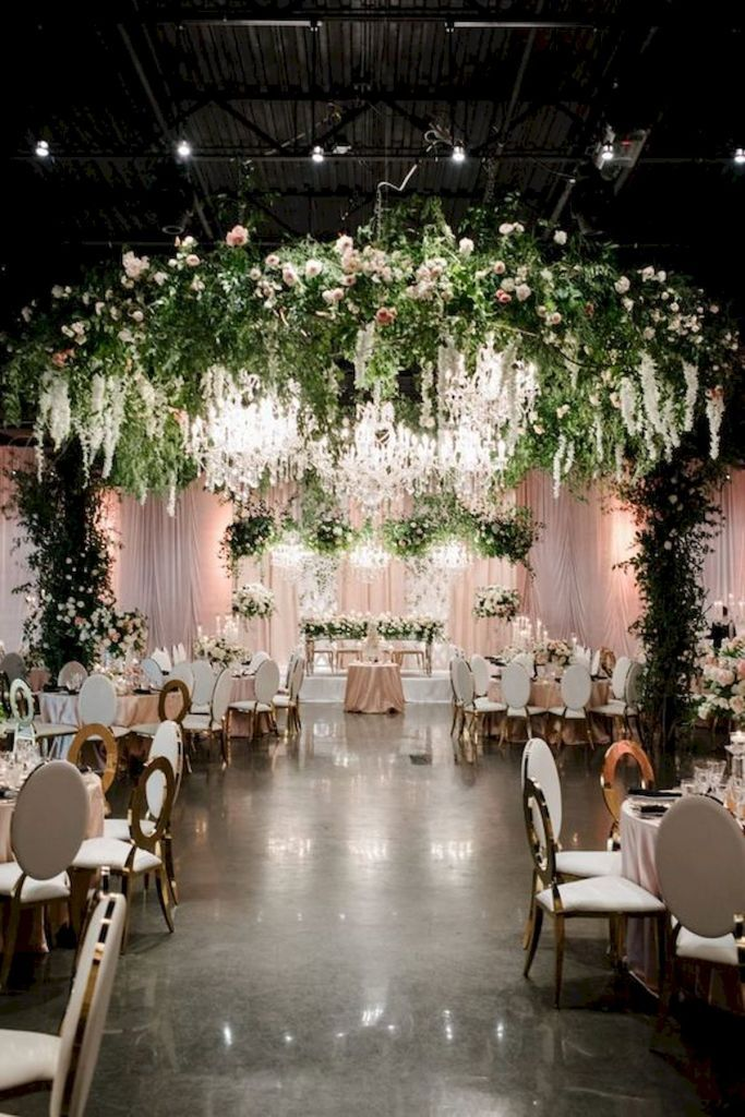 33 Best Wedding Decorations Indoor Ideas For Summer 1 Tempat