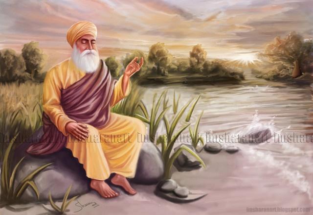 Guru Nanak Dev Ji..peace, tranquility.