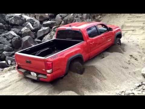 2016 Toyota Tacoma Demonstrating New Crawl Control Feature To Get Out Of Sand | PowerNation