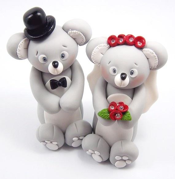Pin Koala Wedding Cake Topper You Can Order A Custom With