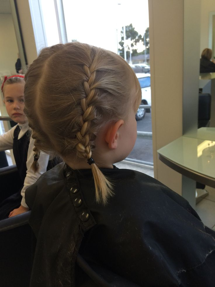 Anna hair from frozen for our youngest and most loyal client