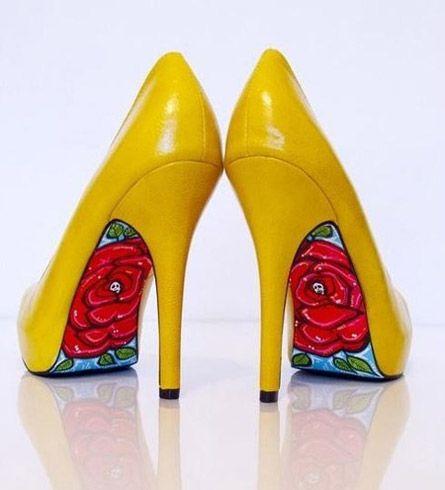 Цветопробы: Яркая обувь