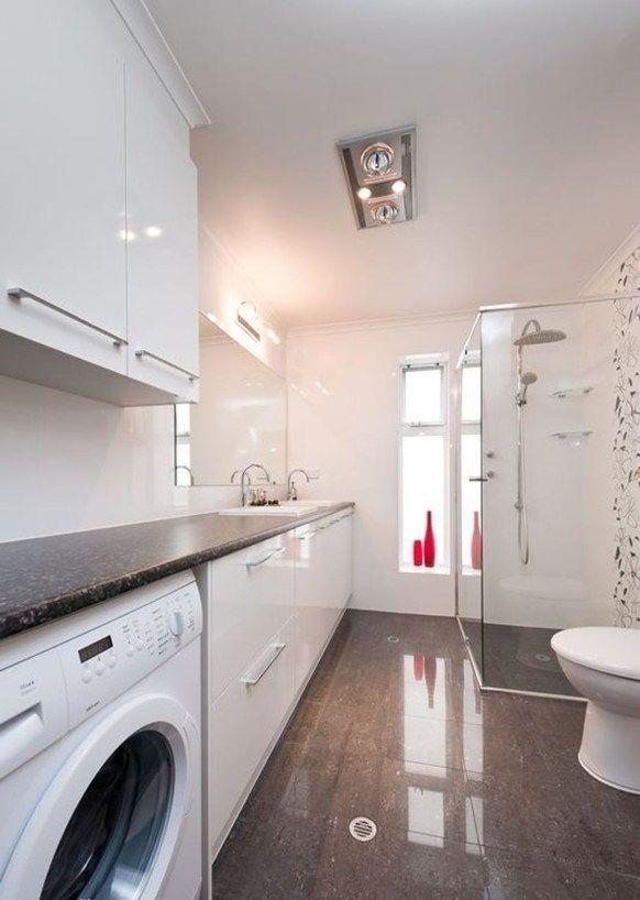 Modern Tile Design Ideas For Your Laundry Room 33 Laundry Room Bathroom Laundry Bathroom Combo Bathroom Floor Plans