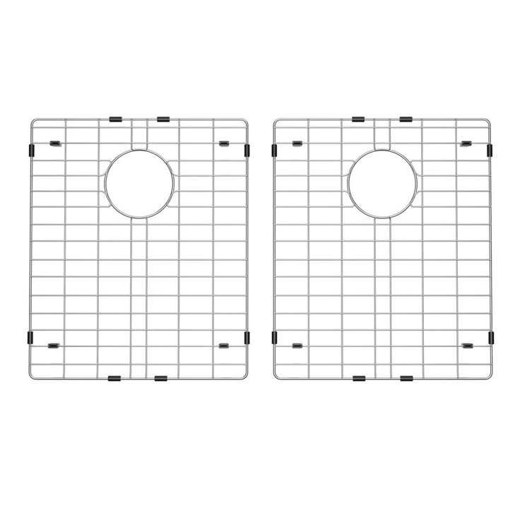 14 in. x 16 in. Stainless Steel Kitchen Sink Bottom Grid