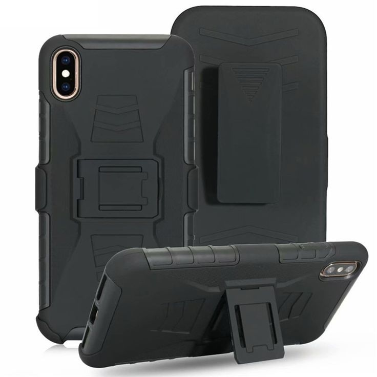 Apple iphone xs max military future armor shock proof case