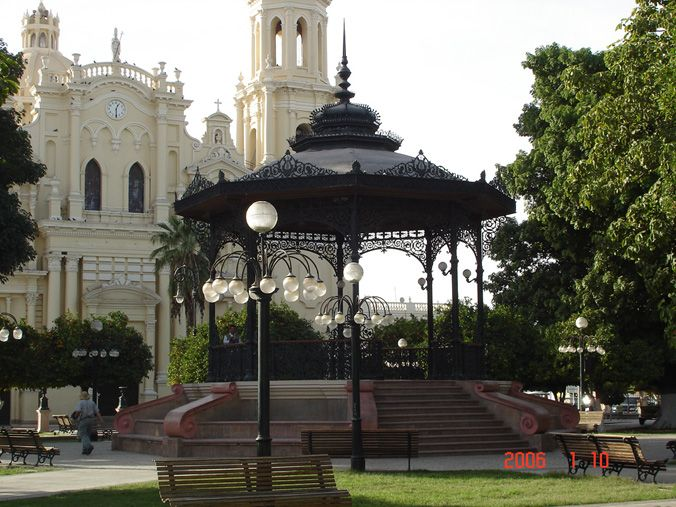 Cathedral and Pergola