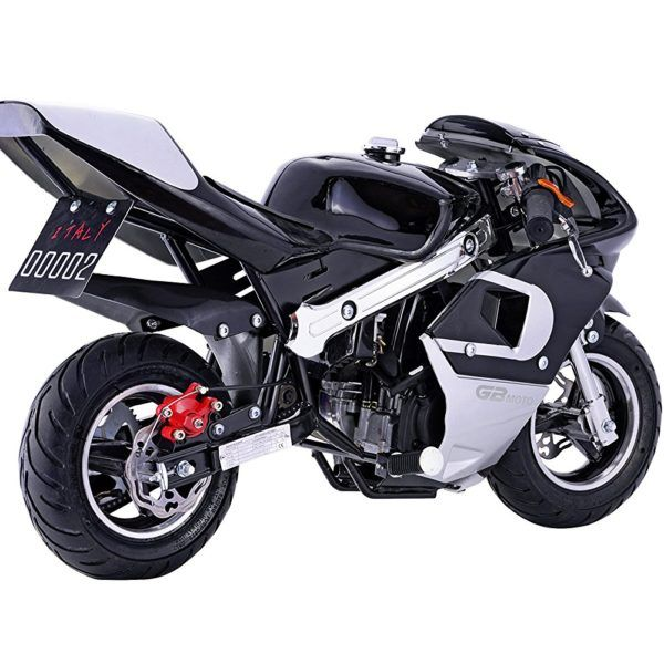 Buy Dirt Pocket Bike Black Mini Gas Powered Motorcycle For Kids