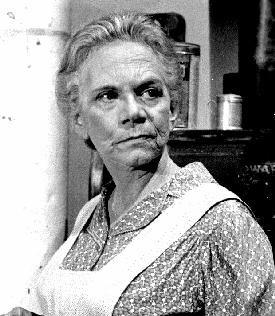 ELLEN CORBY as ESTHER WALTON, de grootmoeder in de Waltons. tv serie.