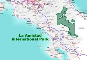 La Amistad International Park Location