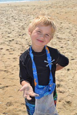 Come Together Kids: Seashell Collecting Bag