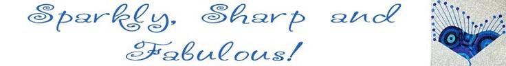 My new blog! @Sparkly Sharp Fabulous
