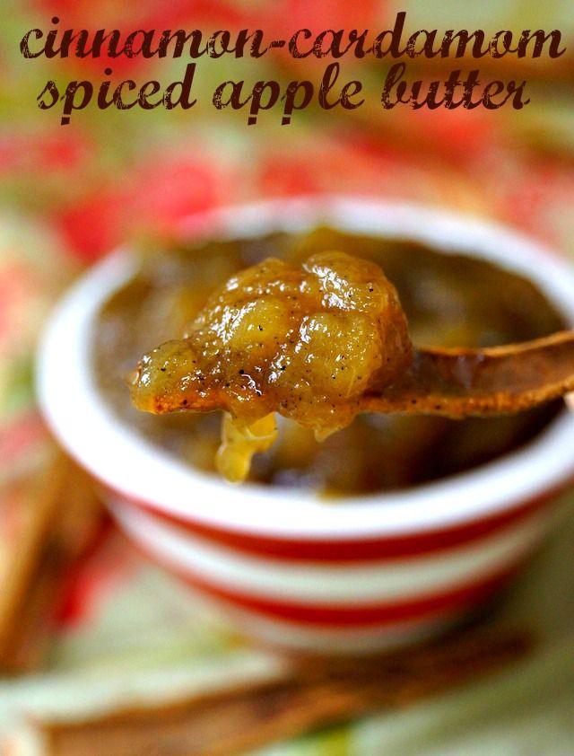 Cinnamon-Cardamom Spiced Apple Butter Recipe