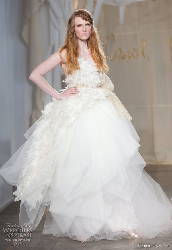 carol hannah whitfield spring 2012 - angel oak wedding dress